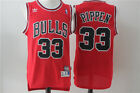 NWT Scottie Pippen 33 Chicago Bulls mens Jersey Stitched S 2XL