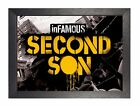 Infamous Second Son 2 - 8 Action Adventure Video Game Poster Play Station Xbox