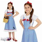 Childs Girls Dorothy Fairytale Book Day Week Story Fancy Dress Costume Outfit
