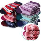 Boys Girls Wool Socks Soft Warm Thick Thermal Cotton For Child Kid Toddler...