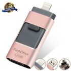 64/128/256/512GB USB Flash Drive Photo Memory Stick Expansion OTG For iPhone