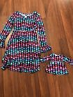 Dollie and Me Polka Dot Flower Dress Ameeican Girl Matching Size 10