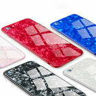 Luxury Classic Design Thin Glass Cover Case For Apple iPhone E X XR XS MAX