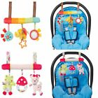 Soft Infant Stroller Spiral Baby Toys For Newborns Car Seat Educational Rattles