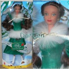 """DISNEY'S """"BELLE"""" FROM BEAUTY AND THE BEST THE ENCHANTED CHRISTMAS DOLL-. MATTEL"""