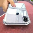 Hybrid Shockproof Clear TPU Hard Bumper Case For iPhone X 7 8 Plus XR Xs Max New