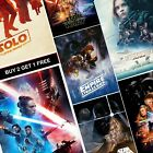 Star Wars Movie Posters A4 A3 Print Empire Strikes Back Rise Of Skywalker Prints £1.49 GBP on eBay