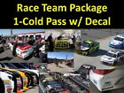 TEXAS- NASCAR Team Package... Cold Garage, Pits, Decal & more!