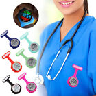 Digital Display Dial Clip-On Nurse Fob Brooch Pin Hang Pocket Electric Watch