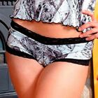 Naked North Snow Camo Panties, Camouflage Boy Shorts Lingerie Boyshorts