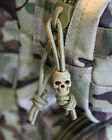NEW KOMBAT UK TACTICAL SKULL CORD STOPPERS COYOTE TAN BLACK OR SILVER 10 PACK