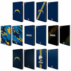 OFFICIAL NFL LOS ANGELES CHARGERS LOGO LEATHER BOOK WALLET CASE FOR APPLE iPAD $15.95 USD on eBay