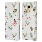 JULIA BADEEVA ANIMAL PATTERNS 4 LEATHER BOOK CASE FOR WILEYFOX & ESSENTIAL