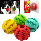 Aggressive Chew Toys for Large Dogs Indestructible Rubber Ball Food Dispenser