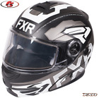 New 2019 FXR Fuel Modular Evo Snowmobile Helmet Electric Black/White Md LG XL 2X
