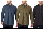 Grizzly Mountain Men's Flannel Chamois Shirt Cotton  Size & Color Variety