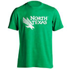 North Texas UNT Mean Green Stacked Athletic Eagle Logo Short Sleeve T-Shirt