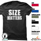 Size Matters Gym Rabbit T-Shirt Workout BodyBuilding Fitness Motivation Tee F050 image