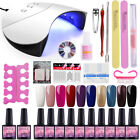 COSCELIA Nail Polish Kit-Set 36W UV/LED Lamp 10Pc Soak Off Gel 8ML Tools - Best Reviews Guide