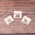 50pcs Handmade labels tags fabric making sewing crafts for clothes bags DIY Fad