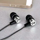 3.5mm Stereo Earbuds Sport Heavy Bass Music MP3/4 Earphone For Cell Phone x 1