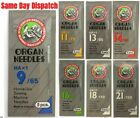 Organ Domestic Sewing Machine Needles HAX1 130/705H  Fits Brother Janome etc