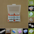 For AA AAA 18650 21700 26650 Plastic Clear Battery Storage Case Box Holder Best