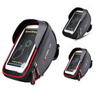 Waterproof Bicycle Bike Cycling Front Frame Tubes Handlebar Bag Mobile Phone 6""