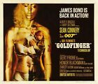"Goldfinger (1964) Movie Silk Fabric Poster 24""x28"" 14""x16"" Classic Rare $7.99 USD on eBay"