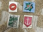 Boy Scouts Lot Of 4 Four Foreign Patches Australia