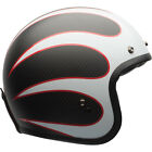 Bell Custom 500 Carbon Classic Helmet - Ace Cafe Tonup Black/White - CHOOSE SIZE $319.99 USD on eBay