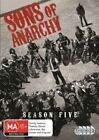 Sons Of Anarchy : Season 5 (DVD, 4-Disc Set) NEW