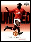 Upper Deck - Manchester United (2001-02) Andrew Cole We Are United No. U12