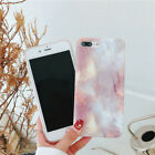 Phone Cover Smooth Marble Personality Design Pink  Bumper Back Cover For phone