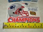 NEWENGLAND PATRIOTS SUPER BOWL XXXVIII CHAMPS 6 INCH DECAL.