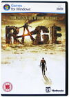Rage (2011) - from the creators of Doom and Quake - PC DVD Game