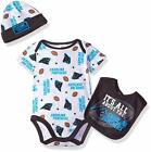 NFL Carolina Panthers Bodysuit, Bib & Cap Set on eBay