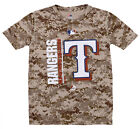 Majestic MLB Youth Texas Rangers Short Sleeve AC Team Icon Tee on Ebay