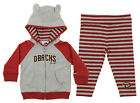 Majestic MLB Infant Girls Arizona Diamondbacks Great Catch Hoodie and Pant Set on Ebay