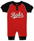 "Majestic MLB Infant Cincinnati Reds ""Game Time"" Coverall on Ebay"