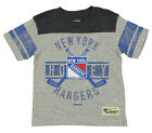 Reebok NHL Kids New York Rangers Short Sleeve Lineage Slub Tee, Grey $8.49 USD on eBay