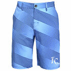 Forever Collectibles MLB Men's Kansas City Royals Diagonal Stripe Walking Shorts