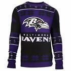 Forever Collectibles NFL Unisex Baltimore Ravens Big Logo Ugly Sweater on eBay