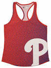 Forever Collectibles MLB Women's Philadelphia Phillies Diamond Racerback Tank on Ebay