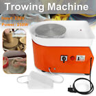 25CM 250W Electric Pottery Wheel Machine Ceramic Work Clay Art Craft 110V/220V ! image