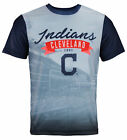 Forever Collectibles MLB Men's Cleveland Indians Outfield Photo Tee on Ebay