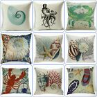 Pillowcase Decor Pillow Cover Coastal Decorative Ocean Home throw Seaside Beach image