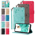 Cute Elephant Pattern Leather Wallet Flip Case Cover for iPhone Phone/XS Max/7/8