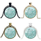 JEREMIAH 29:11 CHRISTIAN PENDANT Scripture Jewelry Christian Gift for Christian!