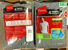 4 Pack Hanes Mens Pocket t Shirt sizes S - 3XL choose your Size & Color image